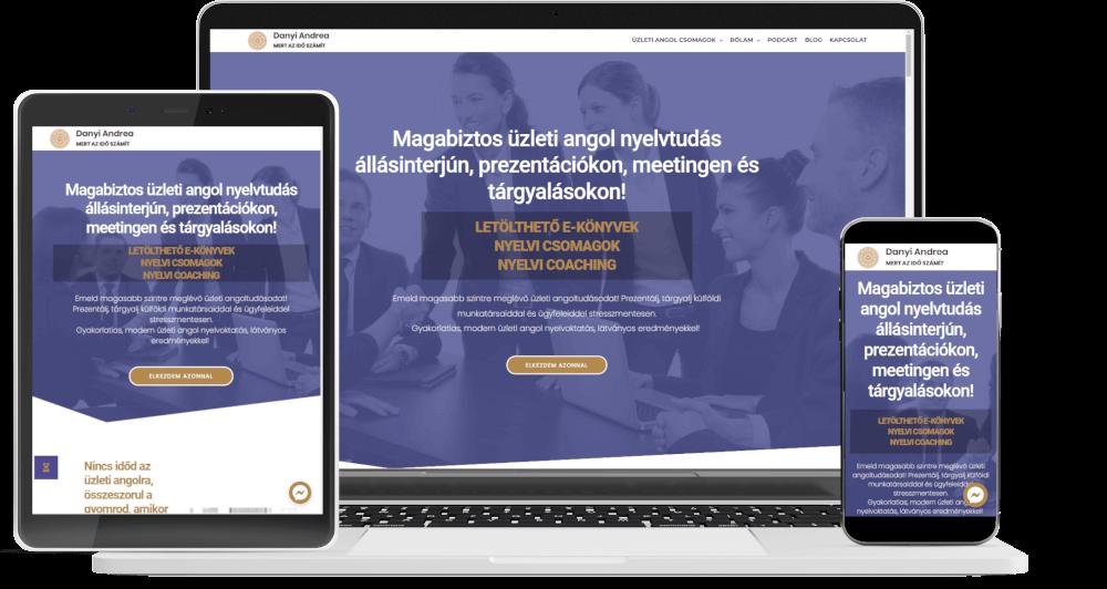 webshop készítés, chatbot referencia danyiandrea.hu